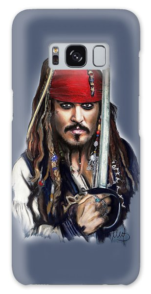 Johnny Depp As Jack Sparrow Galaxy Case