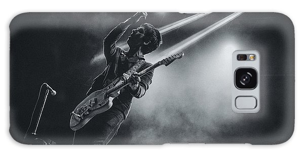 Johnny Marr Playing Live Galaxy Case by Marco Oliveira