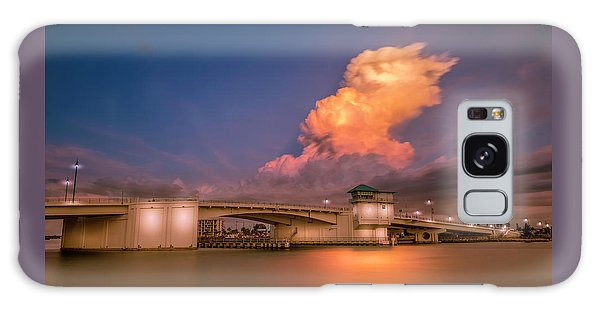 Cloudscape Galaxy Case - John's Pass by Marvin Spates