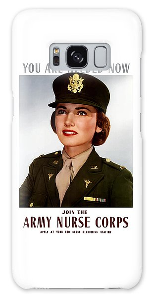 Political Galaxy Case - Join The Army Nurse Corps by War Is Hell Store