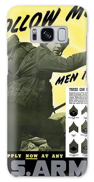 Americana Galaxy Case - Join The Us Army - Follow Me by War Is Hell Store