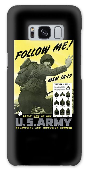 Political Galaxy Case - Join The Us Army - Follow Me by War Is Hell Store