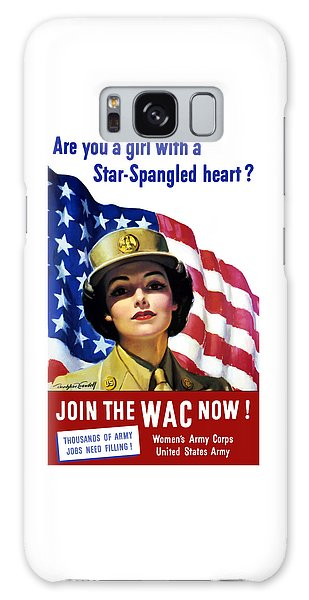 Political Galaxy Case - Join The Wac Now - World War Two by War Is Hell Store