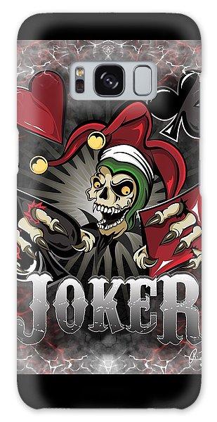 Joker Poker Skull Galaxy Case