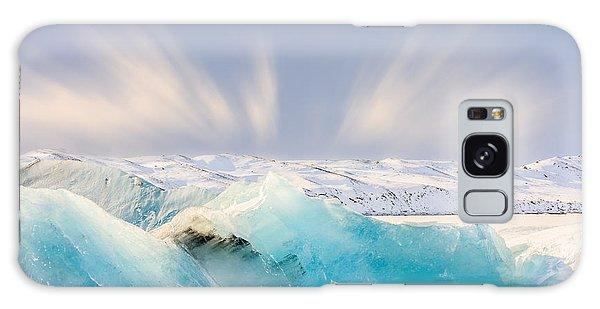 Jokulsarlon Glacier Lagoon Galaxy Case