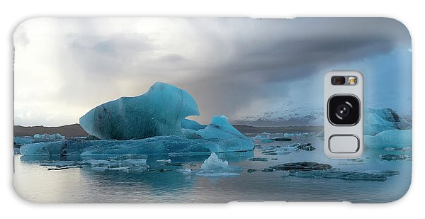 Galaxy Case featuring the photograph Jokulsarlon, The Glacier Lagoon, Iceland 4 by Dubi Roman