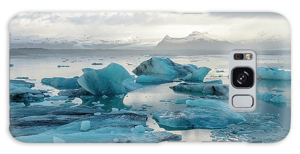 Galaxy Case featuring the photograph Jokulsarlon, The Glacier Lagoon, Iceland 6 by Dubi Roman