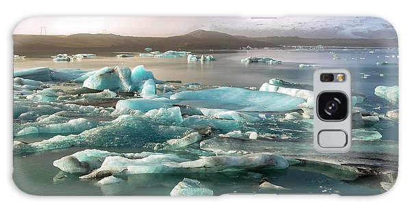 Jokulsarlon The Magnificent Glacier Lagoon, Iceland Galaxy Case