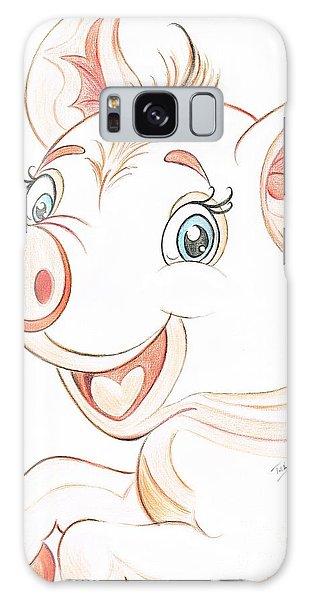 Jolly Miss Piggy Galaxy Case by Teresa White