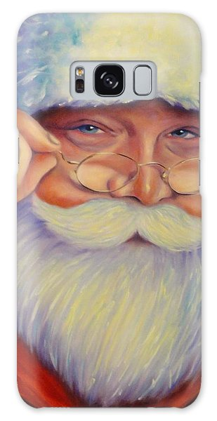Jolly Old Saint Nick Galaxy Case