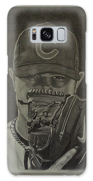 Jon Lester Portrait Galaxy Case