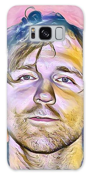 Jonathon Good Portrait Galaxy Case