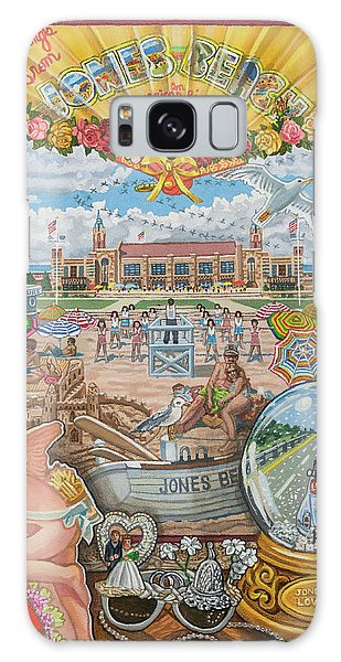 Jones Beach Love Story Galaxy Case