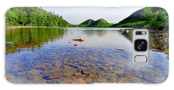 Jordan Pond And The Bubbles Galaxy Case