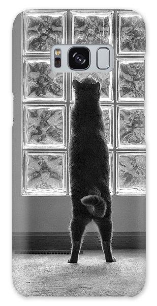 Joseph At The Window Galaxy Case