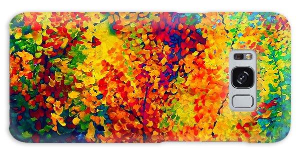 Joseph's Coat Trees Galaxy Case by Eloise Schneider