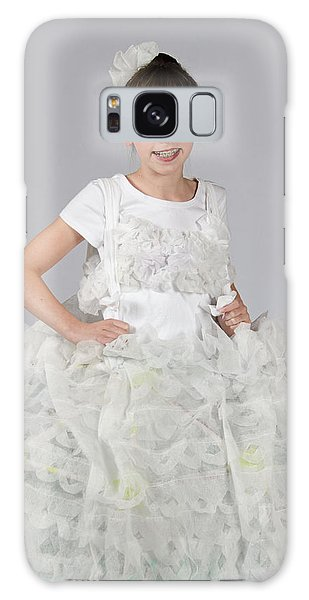 Josette In Dryer Sheet Dress Galaxy Case
