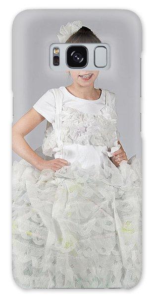 Josette In Dryer Sheet Dress Galaxy Case