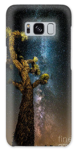 Joshua Tree And Milky Way Galaxy Case