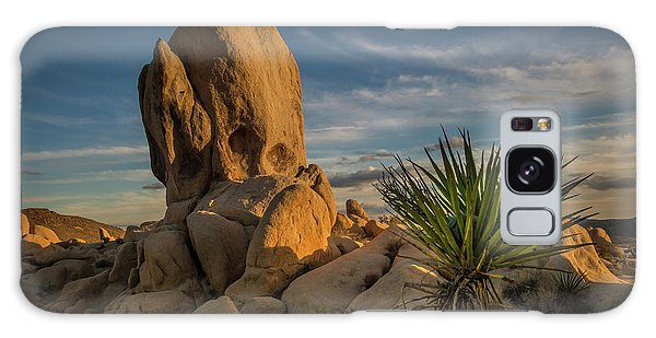 Joshua Tree Rock Formation Galaxy Case