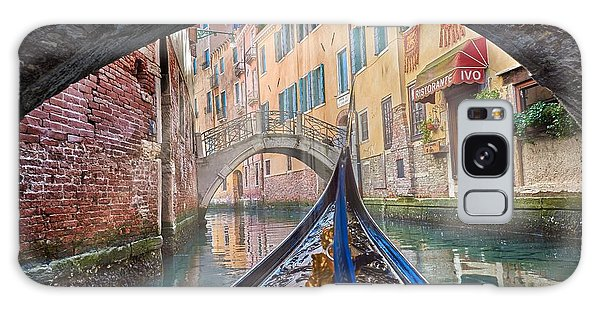 Journey Through Dreams - A Ride On The Canals Of Venice, Italy Galaxy Case