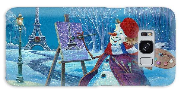 Joyeux Noel Galaxy Case by Michael Humphries