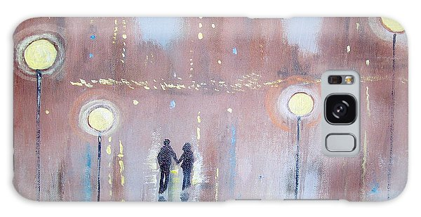 Joyful Bliss Galaxy Case by Raymond Doward
