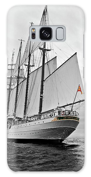 Juan Sebastian De Elcano In Its World Wild Travel Galaxy Case