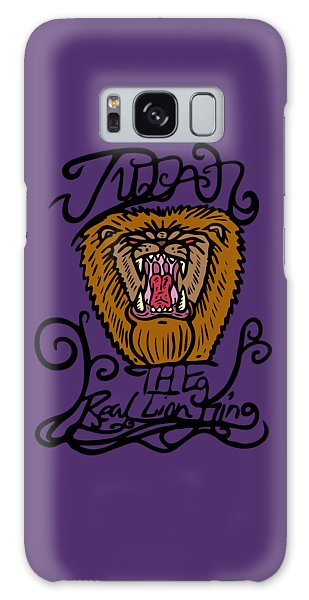 Judah The Real Lion King Galaxy Case