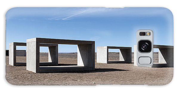 Judd's Cubes By Donald Judd In Marfa Galaxy Case by Carol M Highsmith