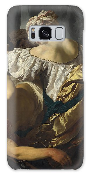Judith In The Tent Of Holofernes Galaxy Case