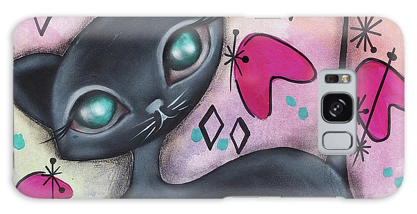 Judy Cat Galaxy Case by Abril Andrade Griffith