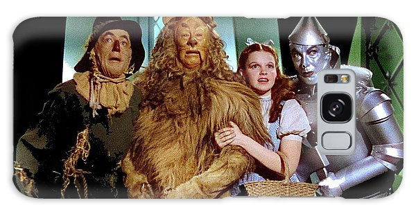 Judy Garland And Pals The Wizard Of Oz 1939-2016 Galaxy Case by David Lee Guss