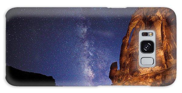 Jug Handle Arch And The Milky Way Galaxy Case