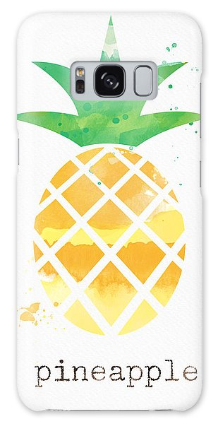 Fruits Galaxy S8 Case - Juicy Pineapple by Linda Woods