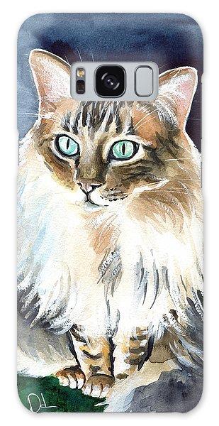 Juju - Cashmere Bengal Cat Painting Galaxy Case