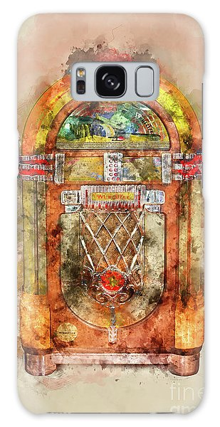 Collectibles Galaxy Case - Jukebox Watercolor by Delphimages Photo Creations