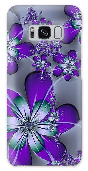 Julia The Florist Galaxy Case by Michelle H