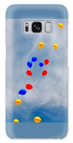 Julian Assange Balloons Galaxy Case