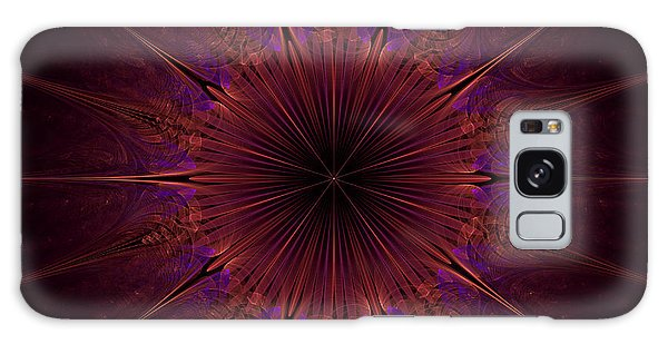 The Violet Blessings Of The Crown Chakra Galaxy Case