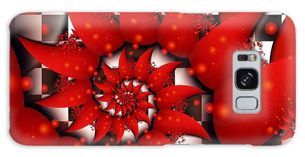 Julias Summer Red Galaxy Case by Michelle H
