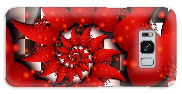Julias Summer Red Galaxy Case by Michelle H