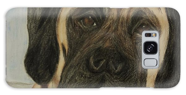 Julie's Dog Lounging Galaxy Case by Christy Saunders Church