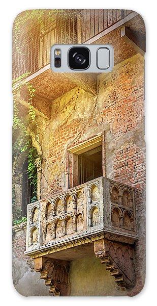 Juliets Balcony Verona Italy  Galaxy Case