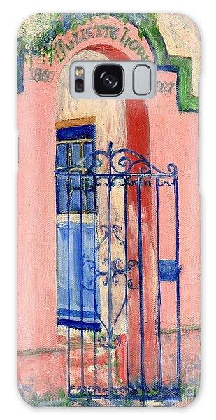 Juliette Low Garden Gate Savannah Galaxy Case by Doris Blessington