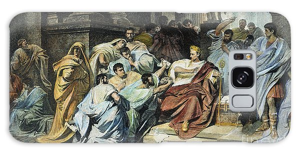 Ides Of March Galaxy Case - Julius Caesar (100-44 B.c.) by Granger