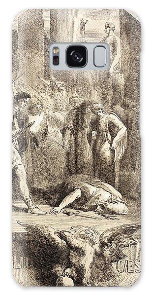 Ides Of March Galaxy Case - Julius Caesar by John Gilbert