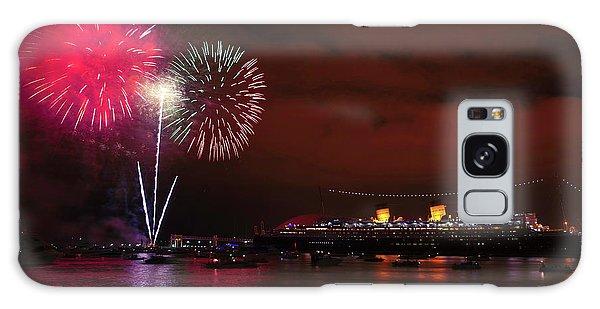 July 4th Fireworks - Long Beach California Galaxy Case