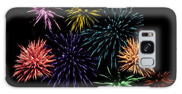 July Fireworks Montage Galaxy Case