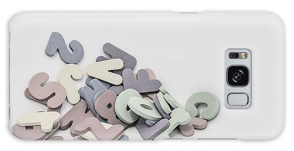 Bath Galaxy Case - Jumbled Letters by Scott Norris